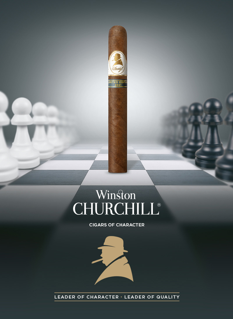 The Davidoff Winston Churchill Cigar 2021 Limited Edition