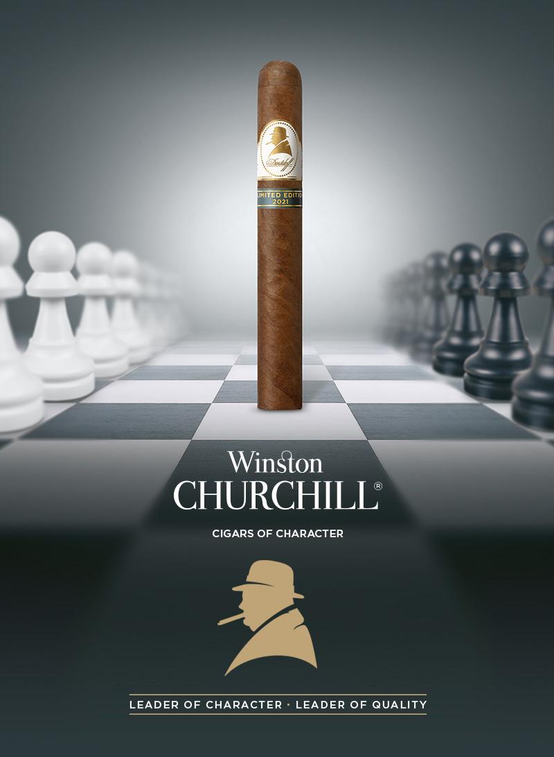 Die Davidoff Winston Churchill Zigarre 2021 Limited Edition
