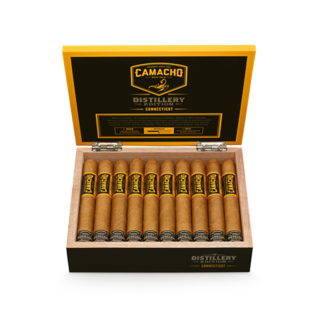 Camacho Distillery Edition Toro, Connecticut / Box of 20