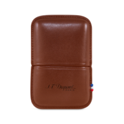S.T. Dupont Lighter Ligne 2, Brown / Case