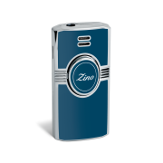 Zino Jet Flame Lighter, Light Blue / Lacquer