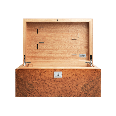 Davidoff No 1 Humidor, Thuya / Palladium Fittings