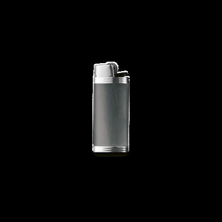 Davidoff Mini Lighter Sleeve, Anthrazite / Stainless Steel