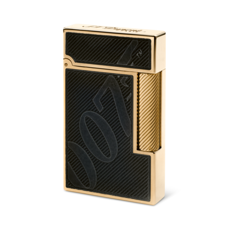 S.T. Dupont James Bond 007 Ligne 2 Lighter, Black Lacquer & Gold