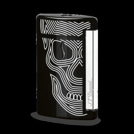S.T. Dupont James Bond 007 MiniJet Lighter, Black Skull