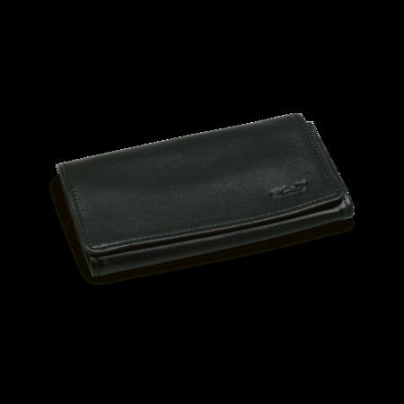 Davidoff Tobacco Pouch, Leather Black, max. 100g
