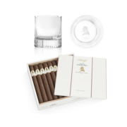 Davidoff Winston Churchill Churchill Set, Box of 20 + 2 Glass Set
