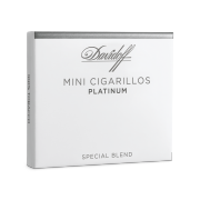 Davidoff Mini Cigarillos Platinum, Pack of 10