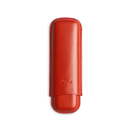 Zino Cigar Case Red, 2  Cigars / DC
