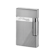 S.T. Dupont Ligne 2 'Precious Metals' Lighter, Silver Diamond Head