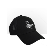 Camacho Hat Scorpion Black, One Size Fits All