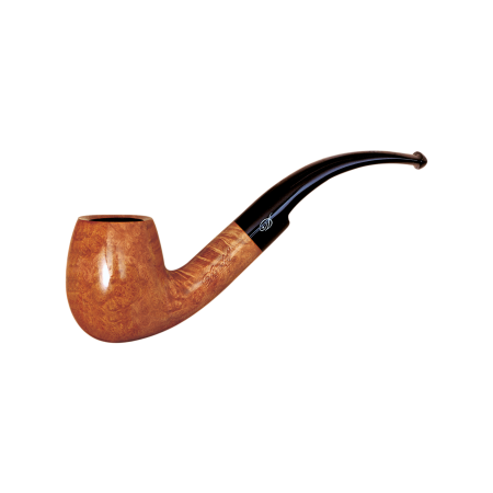 Davidoff Cognac Classic Bent Pipe, Natural Light Brown
