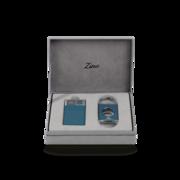 Zino Z-Collection Set, Blue Lighter & Cutter
