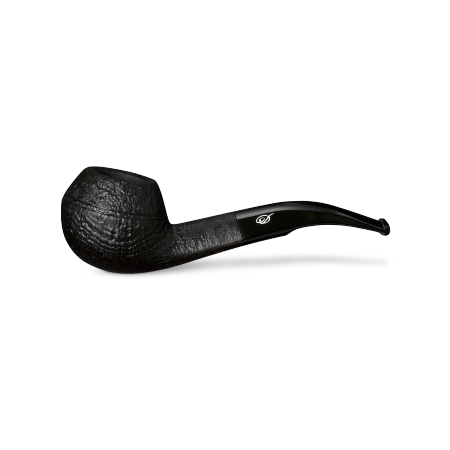 Davidoff Bulldog Pipe, Sandblasted Black