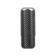 Zino Cigar Case Carbon Fiber, 2 Cigars / XL