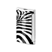 S.T. Dupont MiniJet Lighter 'Fashion', Zebra Black