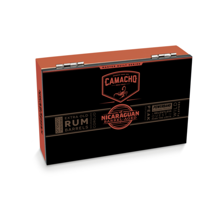 Camacho Nicaraguan Barrel Aged Robusto, Box of 20