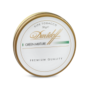 Davidoff Pipe Tobacco, Green Mixture, Tin of 50g