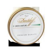 Davidoff Pipe Tobacco, Green Mixture, Tin of 50g