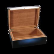 S.T. Dupont Humidor Cigar Universe, Sunburst Blue Lacquer
