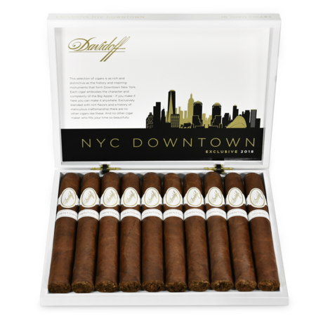 Davidoff Exclusive Downtown New York 2018, Box of 10