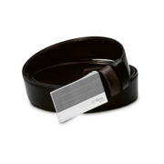 S.T. Dupont Belt Reversible Black / Brown, Diamond Head Delta Box