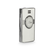 Zino Jet Flame Lighter, White / Lacquer