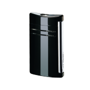 S.T. Dupont MaxiJet Lighter, Black as Night Lacquer