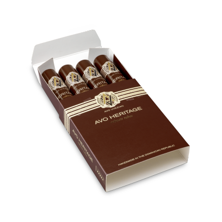 Avo Heritage Robusto, Pack of 4 Tubos
