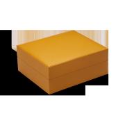 Davidoff Primos Leather Humidor, Saffron / Cowhide