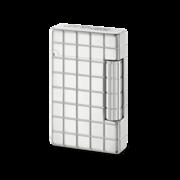 S.T. Dupont Lighter Initial, Silver / Quadri Line