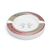Davidoff Porcelain Ashtray 'Year of the Sheep', White