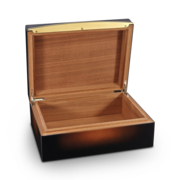 S.T. Dupont Humidor Cigar Universe, Sunburst Brown Lacquer