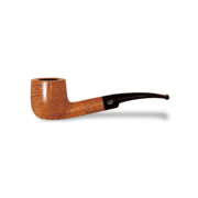 Davidoff Pot Half Bent Pipe, Natural Light Brown