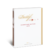 Davidoff Golf Scorecard Edition 2016, Pack of 5