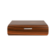 Davidoff Office Humidor, Rosewood / Palladium Fittings