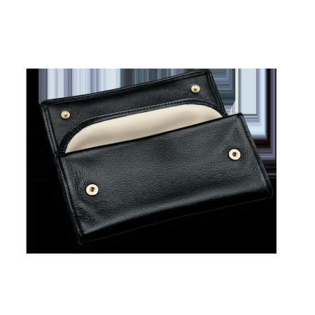 Davidoff Tobacco Pouch, Leather Black, max. 700g