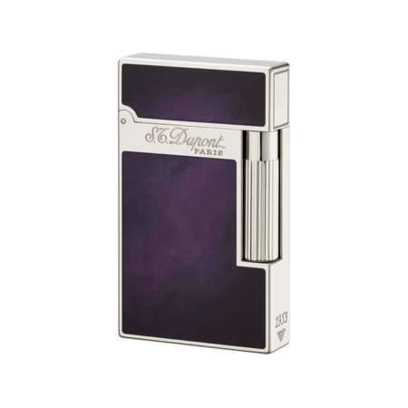 S.T. Dupont Ligne 2 'Atelier Collection' Lighter, Purple