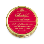 Davidoff Pipe Tobacco, Flake Medallion Mixture, Tin of 50g