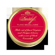 Davidoff Pipe Tobacco, Flake Medallion Mixture, Tin of 50g