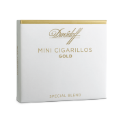 Davidoff Mini Cigarillos Gold, Pack of 10