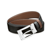 S.T. Dupont Belt Reversible Black / Brown, Grained Delta Box