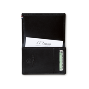 S.T. Dupont Business Card Holder Line D, Black