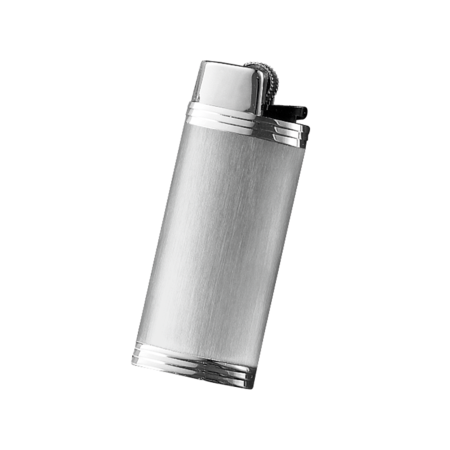 Davidoff Mini Lighter Sleeve, Stainless Steel / Brushed