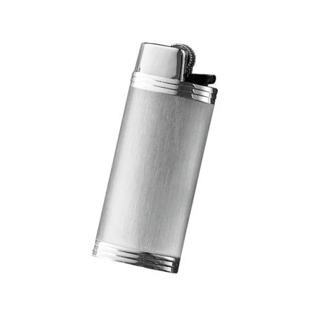 Davidoff Mini Lighter Sleeve, Stainless Steel / Brushed