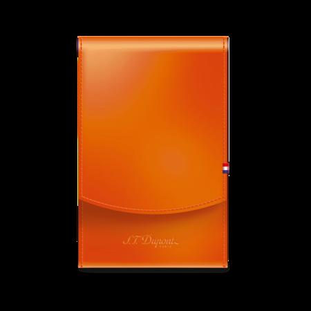 S.T. Dupont Cigarette Case Cigar Universe, Orange