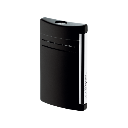 S.T. Dupont MaxiJet Lighter, Matte Black Lacquer