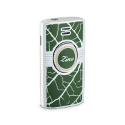 Zino Lighter 'Graphic Leaf', Green/Beige