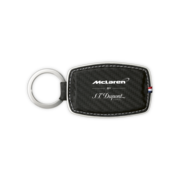 S.T. Dupont Key Ring McLaren Collection, Black / Carbon