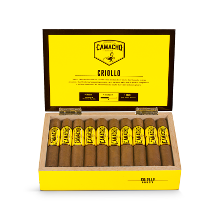 Camacho Criollo Robusto, Box of 20